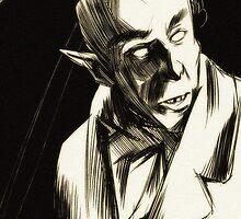 Nosferatu, eine Symphonie des Grauens by Nathan Anderson