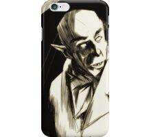 Nosferatu, eine Symphonie des Grauens iPhone Case/Skin