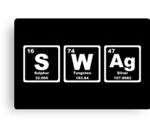 Swag - Periodic Table Canvas Print