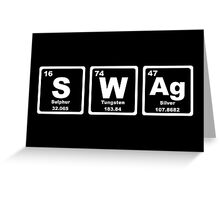 Swag - Periodic Table Greeting Card