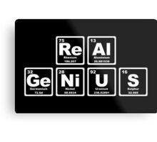 Real Genius - Periodic Table Metal Print