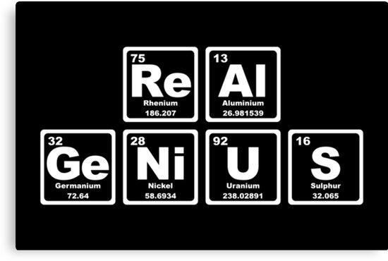 Real Genius - Periodic Table by graphix