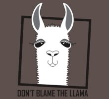 DON'T BLAME THE LLAMA Kids Clothes