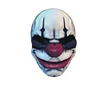 Payday 2 Chains Mask by robkillsyou