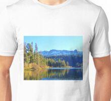 FALL REFLECTIONS ON LOVELY MAMMOTH LAKE Unisex T-Shirt