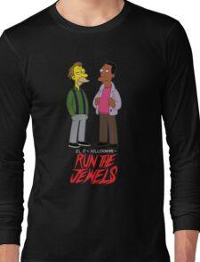 Run The Jewels Lenny and Carl Parody Long Sleeve T-Shirt
