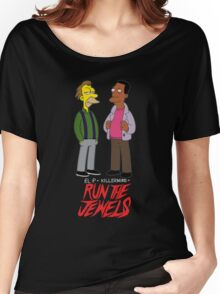 Run The Jewels Lenny and Carl Parody Women's Relaxed Fit T-Shirt