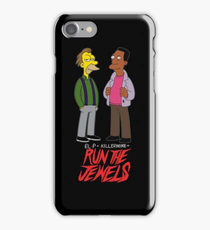 Run The Jewels Lenny and Carl Parody iPhone Case/Skin