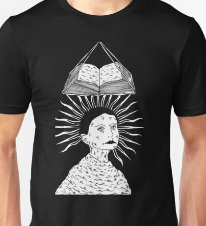 Weight of Knowledge by Allie Hartley  Unisex T-Shirt