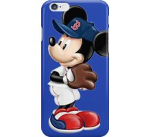 The Red Sox & Mickey iPhone Case/Skin