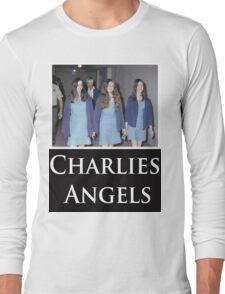 Charlies Angles Parody- Charles Manson Long Sleeve T-Shirt