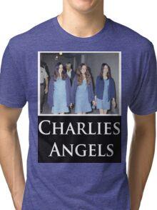 Charlies Angles Parody- Charles Manson Tri-blend T-Shirt
