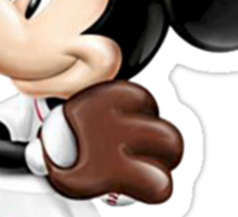 The Red Sox & Mickey Sticker