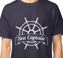 Sea Captain at the Wheel Classic T-Shirt