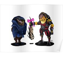 Krogan Love Poster