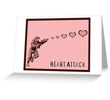 Master Chief Heart Attack - Halo Greeting Card