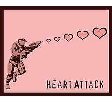 Master Chief Heart Attack - Halo Photographic Print