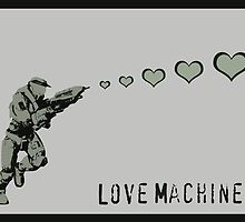 Master Chief Love Machine - Halo  by CanisPicta