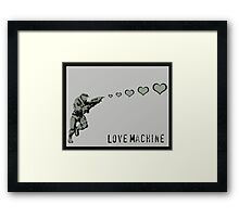 Master Chief Love Machine  Framed Print