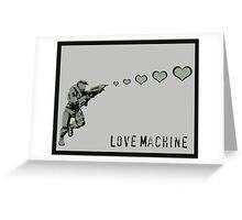 Master Chief Love Machine  Greeting Card