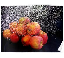 Apple Shower Poster