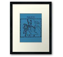 Joan of Arc.... Framed Print