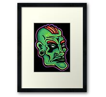 Dwayne - Die Cut Version Framed Print