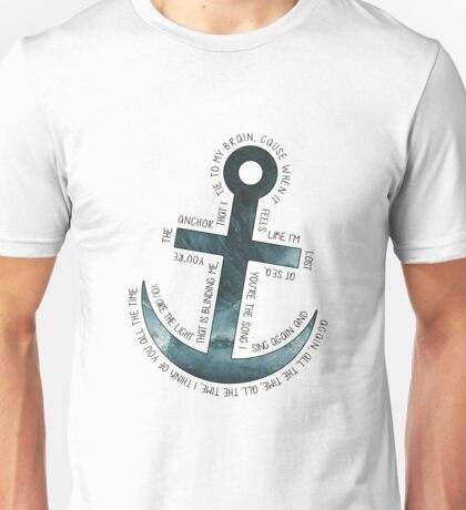 The Anchor // Bastille (band) Unisex T-Shirt