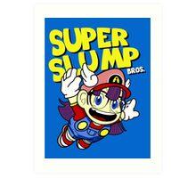 Super Slump Bros Art Print