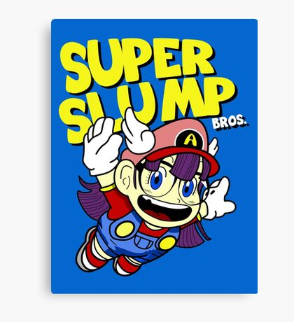 Super Slump Bros Canvas Print