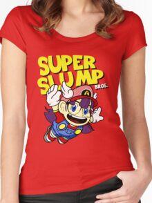 Super Slump Bros Women's Fitted Scoop T-Shirt