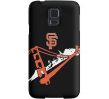 San Francisco Giants Stencil White Samsung Galaxy Case/Skin