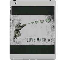 Master Chief Love Machine  iPad Case/Skin