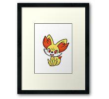 Pokemon Fennekin Framed Print