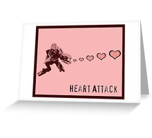 Sangheili Officer Heart Attack  Greeting Card