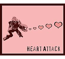 Sangheili Officer Heart Attack  Photographic Print