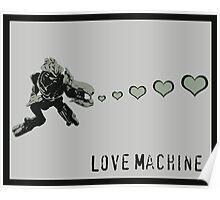 Sangheili Officer Love Machine - Halo Poster