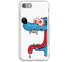 greedy wolf iPhone Case/Skin