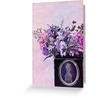 Wild Flower Bouquet - Digital Pastel Greeting Card
