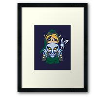 Faces of the Hero - Zora Framed Print