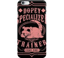 Dopey Specialized Trainer iPhone Case/Skin