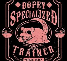 Dopey Specialized Trainer by tiranocyrus