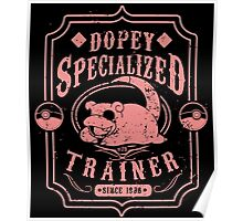 Dopey Specialized Trainer Poster