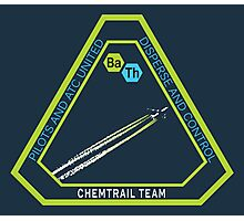 Chemtrail Dispersion Team Photographic Print