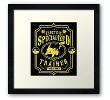 Electric Specialized Trainer II Framed Print