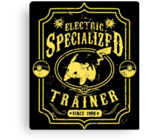 Electric Specialized Trainer II Canvas Print