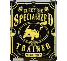 Electric Specialized Trainer II iPad Case/Skin