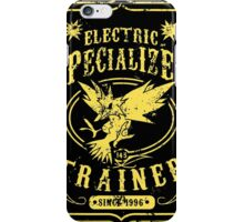 Electric Specialized Trainer iPhone Case/Skin