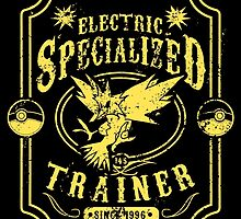 Electric Specialized Trainer by tiranocyrus