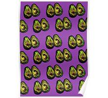 Avocado - Purple Poster